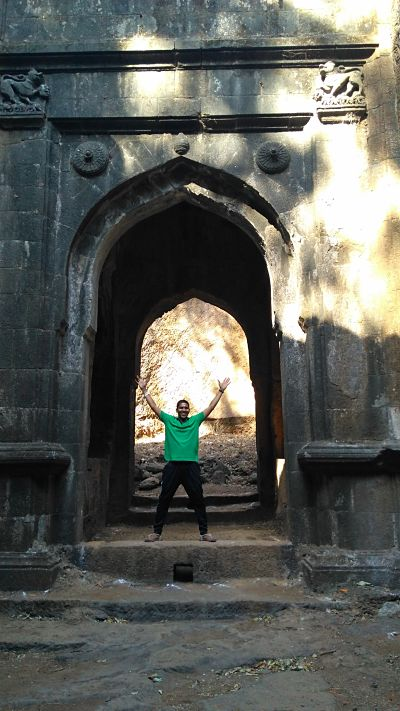 Maha darwaja at sudhagad fort