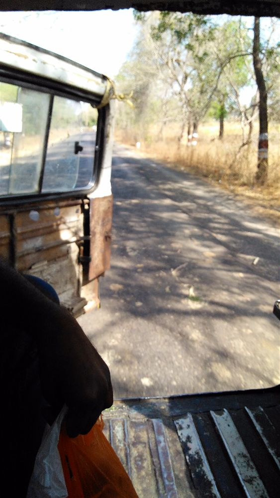sultanpur to lonar jeep ride