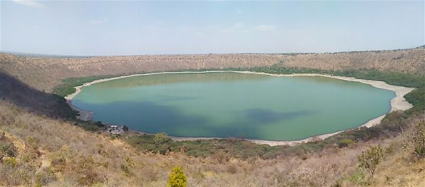 Lonar lake near aurangabad