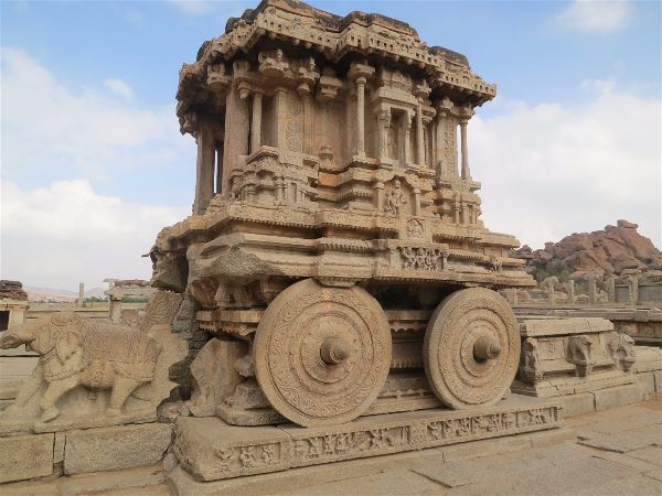 stone chariot in vitthal temple