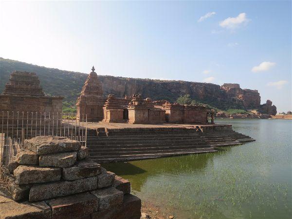 Bhootnath temple in Badami