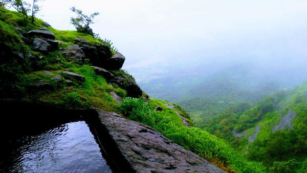 tandulwadi fort top view