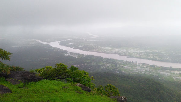 tandulwadi fort top view