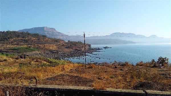 Morbe dam from irshalgad fort