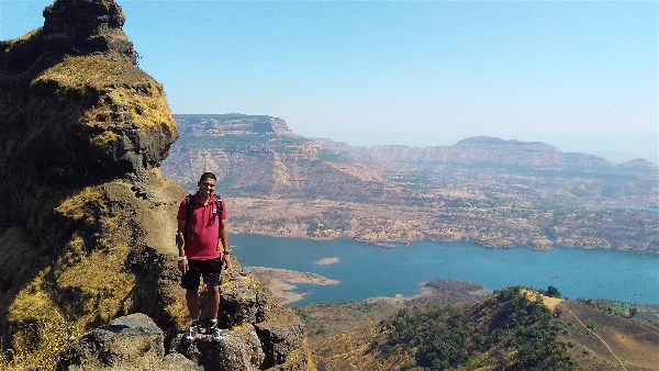 Irshalgad Fort in Low Budget by Public Transport  from Mumbai and Pune