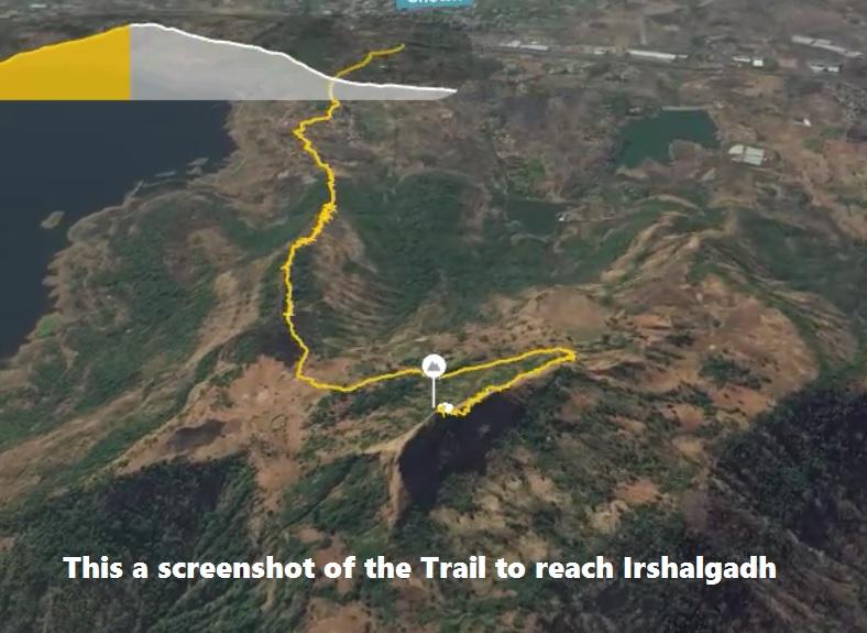 Irshalgad top trail