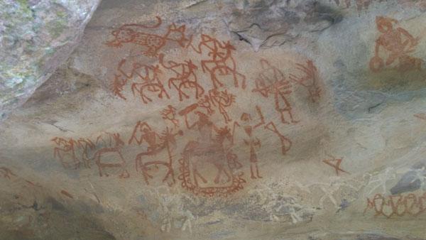 bhimbetka-caves-painting
