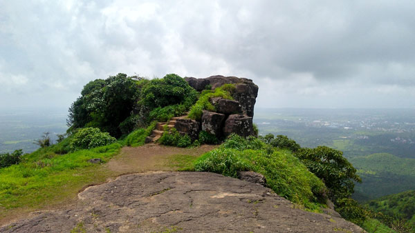 Top view of kaldurg fort