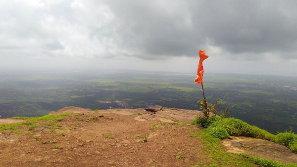 Flag at the top.
