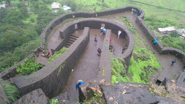 top-view-from-lohagad-fort-mumbai-pune